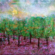 Spring Time Painting Originals - Spring Rain by Jim Whalen