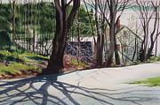Spring Shadows Print by Karol Wyckoff