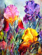 Brilliant Paintings - Spring Spectrum by Bonny Roberts