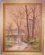 William Sylvester Budworth - Spring Stream