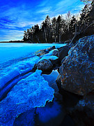 Downeast Maine Prints - Spring Thaw 2 Print by ABeautifulSky  Photography