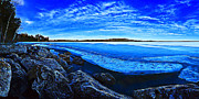 Downeast Maine Prints - Spring Thaw Print by ABeautifulSky  Photography