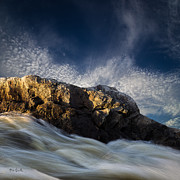 White Water Prints - Spring Thaw Print by Bob Orsillo
