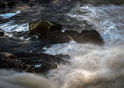 Rushing Metal Prints - Spring Thaw II Metal Print by Bob Orsillo