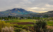 Farm Photography Prints - Spring Time in the Valley Print by Robert Bales