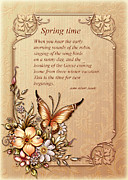 Sounds Digital Art - Spring Time by John Junek