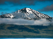 Whale Watching Prints - Spring View of the Mountain Print by Robert Bales