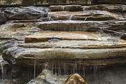 Canvas Photo Originals - Spring Waterfall 2 by Michael Waters