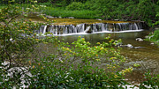 Cascading Water Photos - Spring Waterfall by Bill  Wakeley