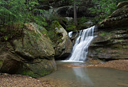 Water Falls Photos - Spring Waterfalls by Dale Kincaid