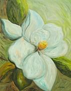 Spring's First Magnolia 2 Print by Eloise Schneider