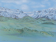 Foothills Pastels - Springtime In the Rockies by Michele Myers