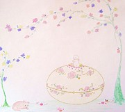 Egg Pastels - Springtime is Here by Christine Corretti
