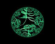 Creativity Series - Springtime Moon by R Thomas Brass