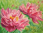 Kathryn Duncan - Springtime Red Blooms