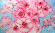 Cherry Blossoms Paintings - Springtime by Sol Arts