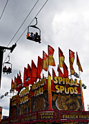 Street Fairs Prints - Spuds Print by Skip Willits