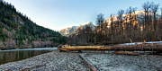 Peaceful Scenery Prints - Squamish River Print by James Wheeler
