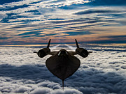 Sr-71 Prints - Sr-71 Print by Paul Heasman
