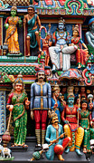 Rick Piper Photography Posters - Sri Mariamman Temple 02 Poster by Rick Piper Photography