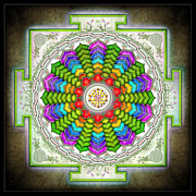 Believe Digital Art - Sri Yantra Evolution by Dirk Czarnota
