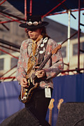 Stevie Ray Vaughn Posters - Srv Poster by David Plastik