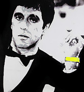 Gallerie Ak Art - St 31 Al Pacino Bw by Surita Tondon