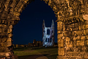 Lumiere Photos - St Andrews Cathedral Son et Lumiere by Corinne Mills