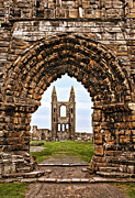 Church Of Scotland Posters - St. Andrews Ruin Poster by Marcia Colelli