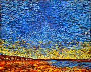Seurat Originals - St. Andrews Sunset by Michael Graham