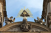 Architectural Style Prints - St Annes Church in Budapest Architectural Details Print by Artur Bogacki