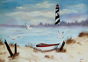 Zelma Hensel Prints - St. Augustine Lighthouse Print by Zelma Hensel