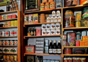 Cans Art - St Augustines Oldest Store by Christine Till