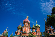Chimes Prints - St. Basils cathedral 2 - Featured 3 Print by Alexander Senin