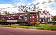Mansion Digital Art - St. Charles Ave. Streetcar 2 by Steve Harrington