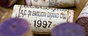 Great Wine Posters - St Emilion Grand Cru Poster by Frank Tschakert