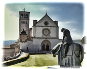 Francis Photo Prints - St Francis - Assisi Print by Jon Berghoff