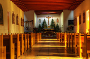 Saint Christopher Photo Prints - St Francis de Paula Mission Tularosa Print by Bob Christopher