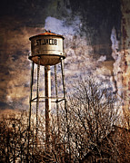 Marty Koch Framed Prints - St. Jacob Water Tower 2 Framed Print by Marty Koch
