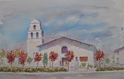 Hayward Originals - St. Joachim Church by John  Svenson