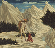 Saint  Paintings - St. John in the Desert by Domenico Veneziano