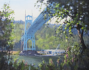 Structure Originals - St. Johns Bridge by Karen Ilari