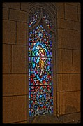 Dan Quam - St. Johns stained glass...