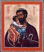 Orthodox Church Paintings - St. Joseph by Fr Barney Deane