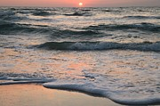 Florida Panhandle Prints - St Joseph Pastels Print by Adam Jewell