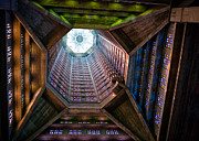 Ceiling Photos - St Josephs Spire by David Bowman