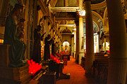 Boston North End Prints - St. Leonards Church....Boston Print by Joann Vitali