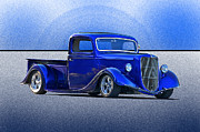 Street Rod Art - St Louis Blues by Dave Koontz