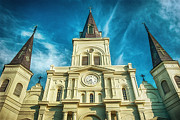 St. Louis Cathedral Print by Brenda Bryant