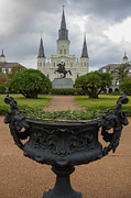 St. Louis Cathedral Framed Prints - St. Louis Cathedral VIf Framed Print by Chris Moore